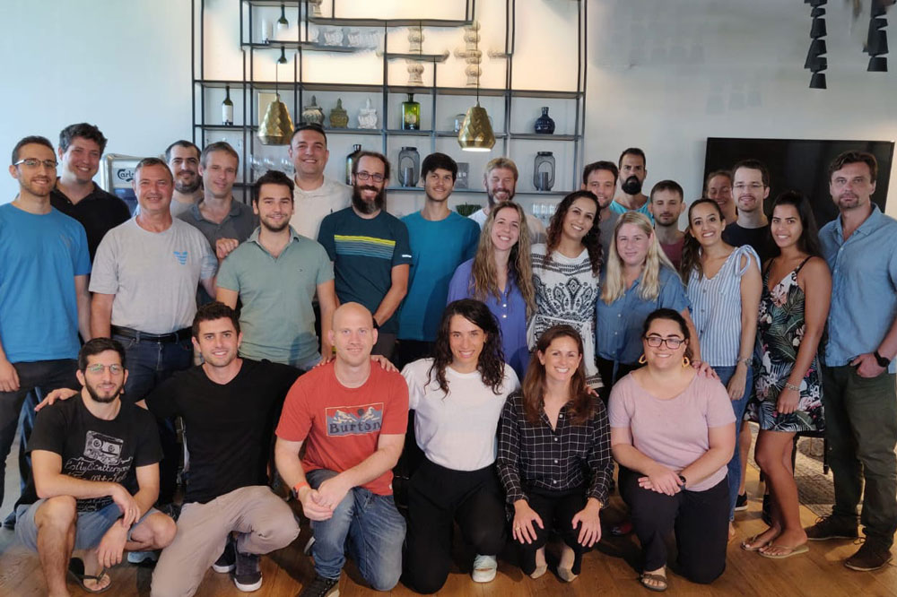 Group Viz.ai employee photo in Tel Aviv