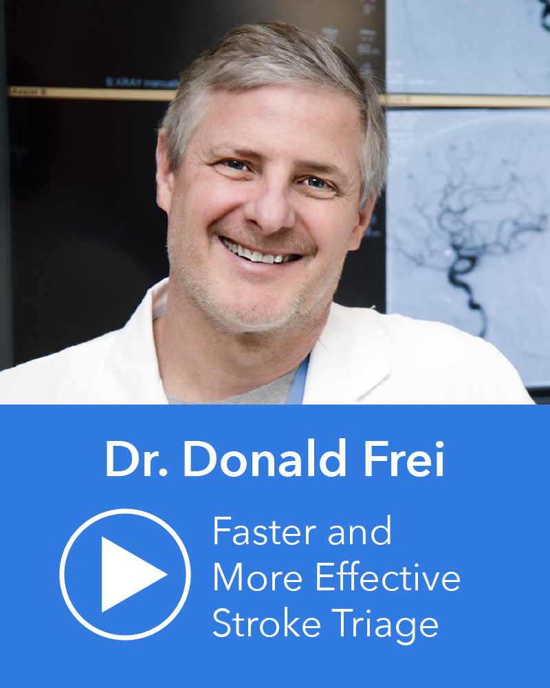Dr. Donald Frei video