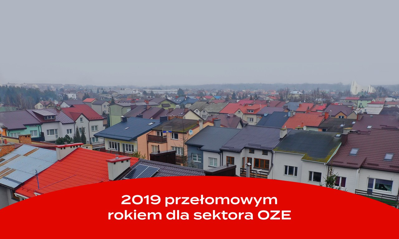2019 przełomowym rokiem dla sektora OZE