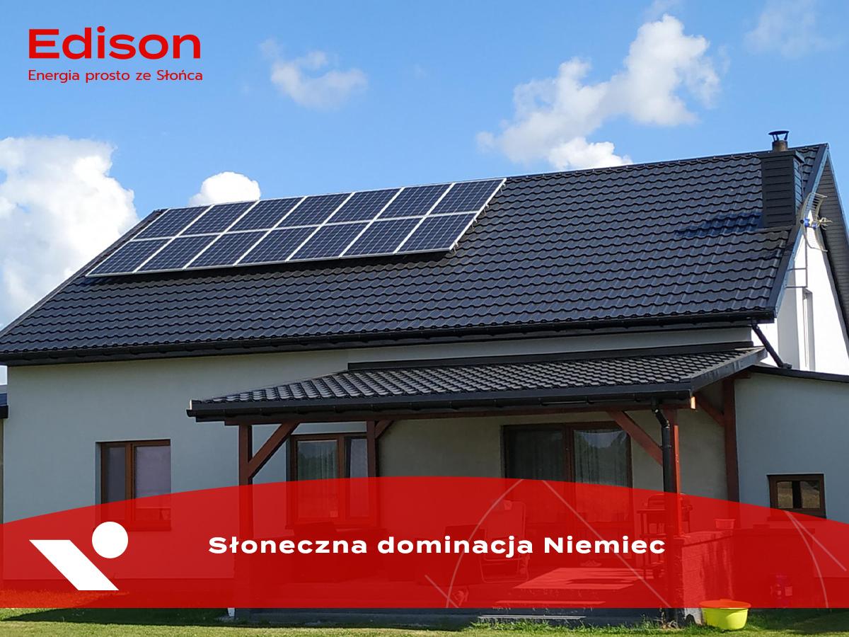 Słoneczna dominacja Niemiec