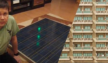 Fotowoltaika na balkonie, na wspólnym dachu i na parkingu...