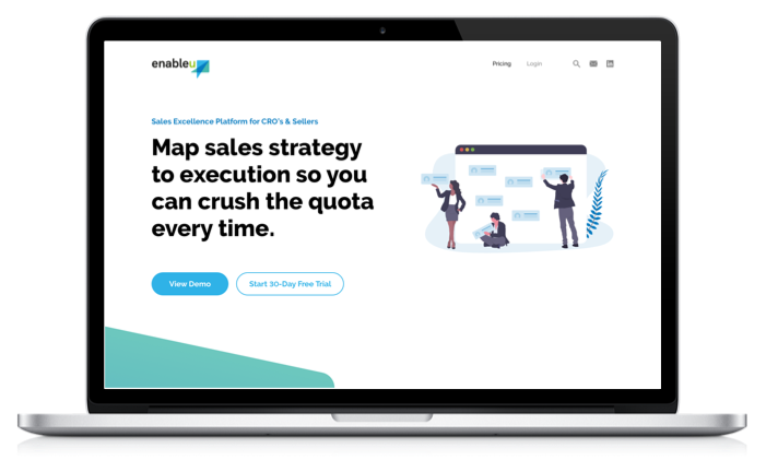 Learn how EnableU's Sales Enablement Platform could help your team sell better