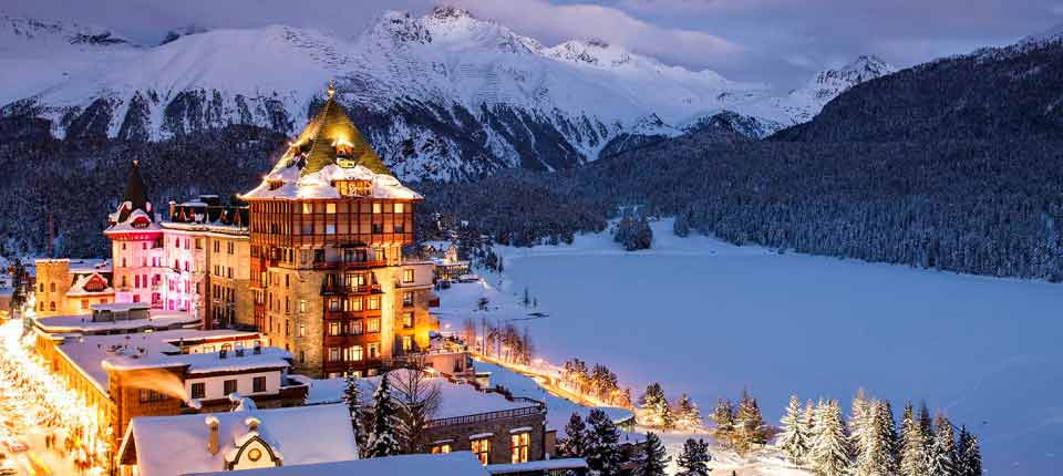 Badrutts Palace Hotel Founder Johannes Badrutt St'Moritz