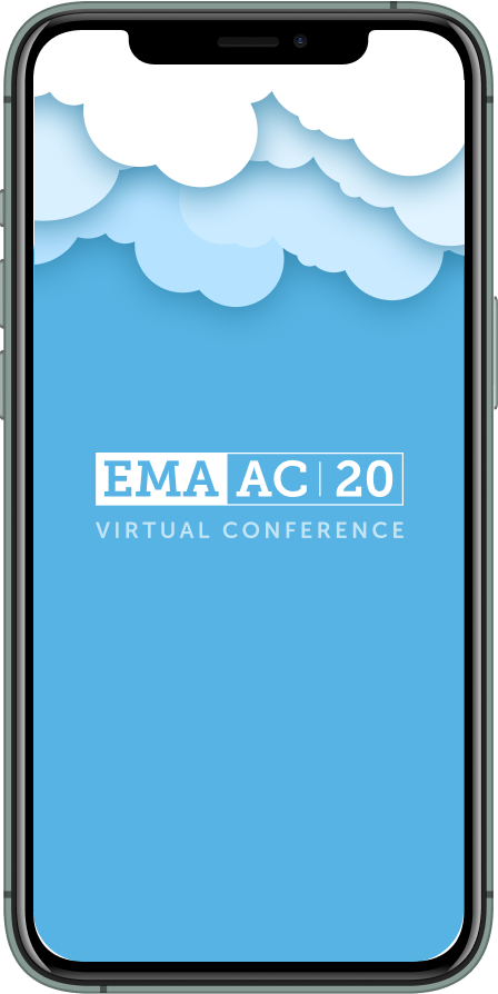 An image of the EMA event app
