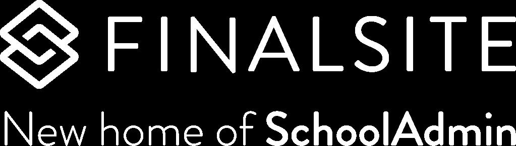 Finalsite — New Home of SchoolAdmin