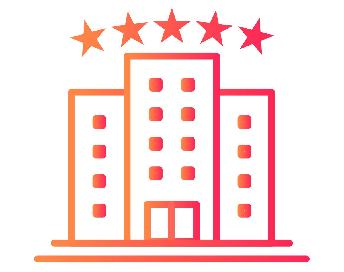 Hotel Room Service digital menu icon