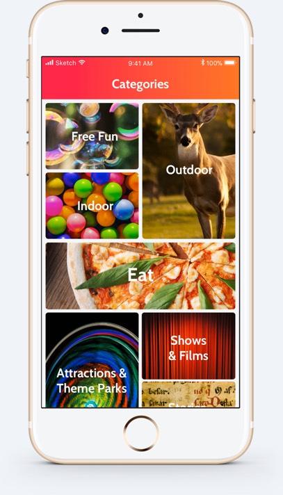 Kidadl App Categories