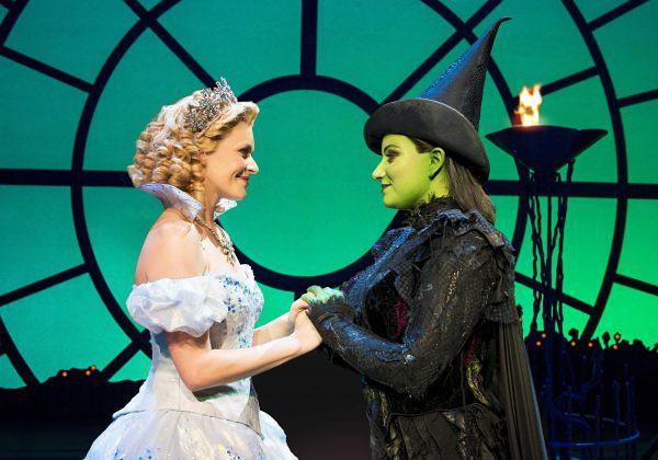 Elpheba in Glinda in Wicked