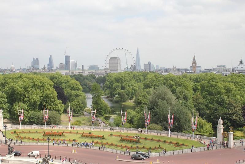 Central London park.