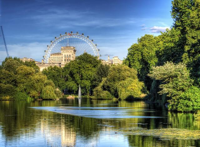London Parks St James Park