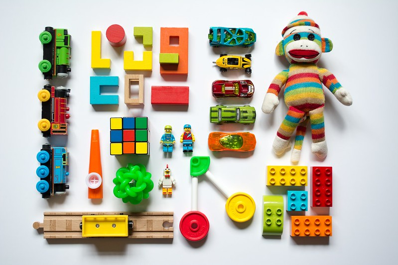 Organise your kids' toys using Marie Kondo's techniques.