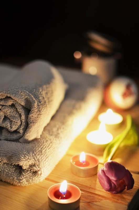 Set up an at-home spa and try out hypnotherapy.