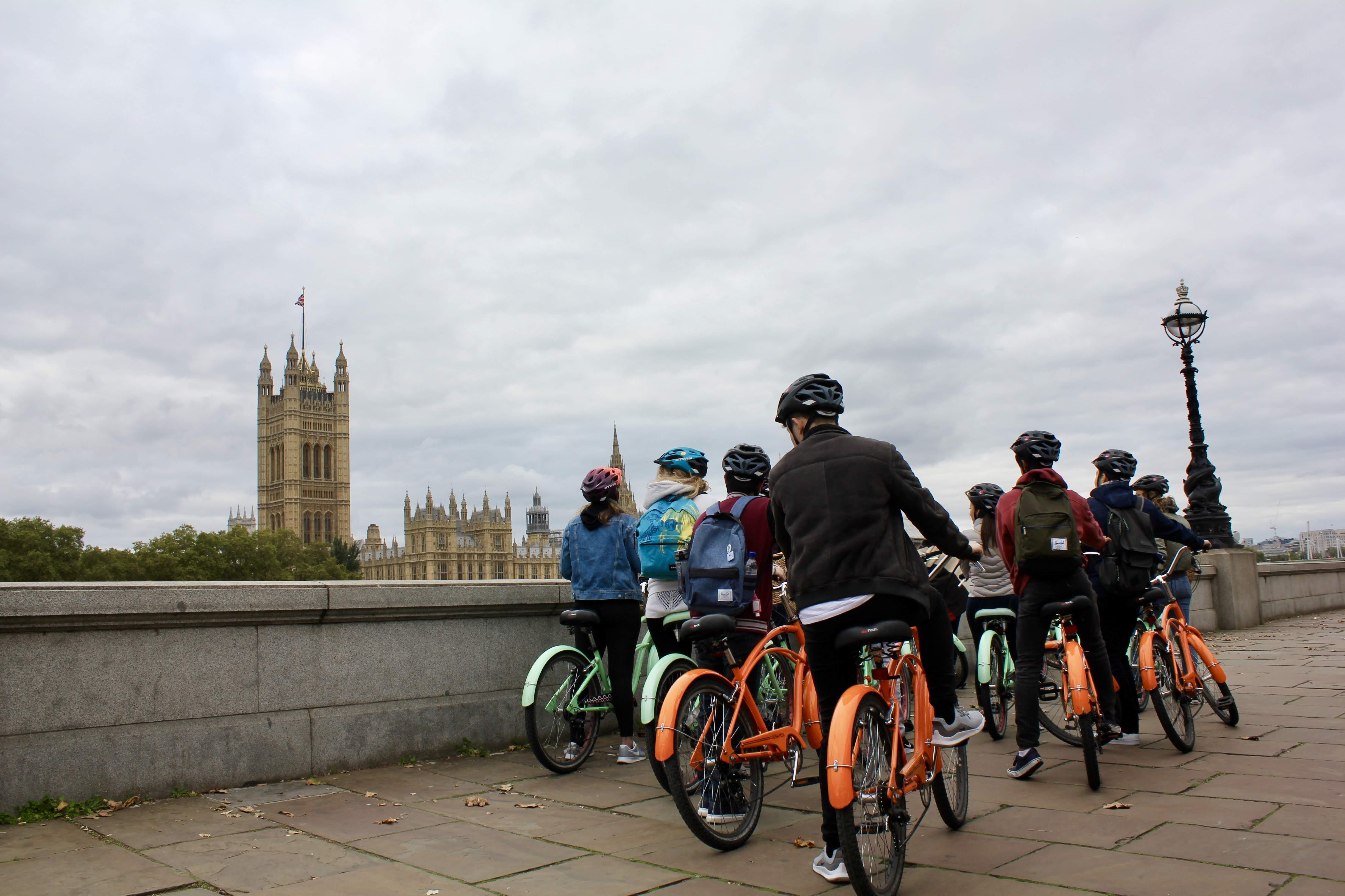 discover secret london on a bike tour