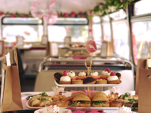 sweet treats on board the B Bakery bus