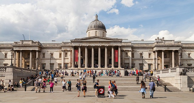 The National Gallery building