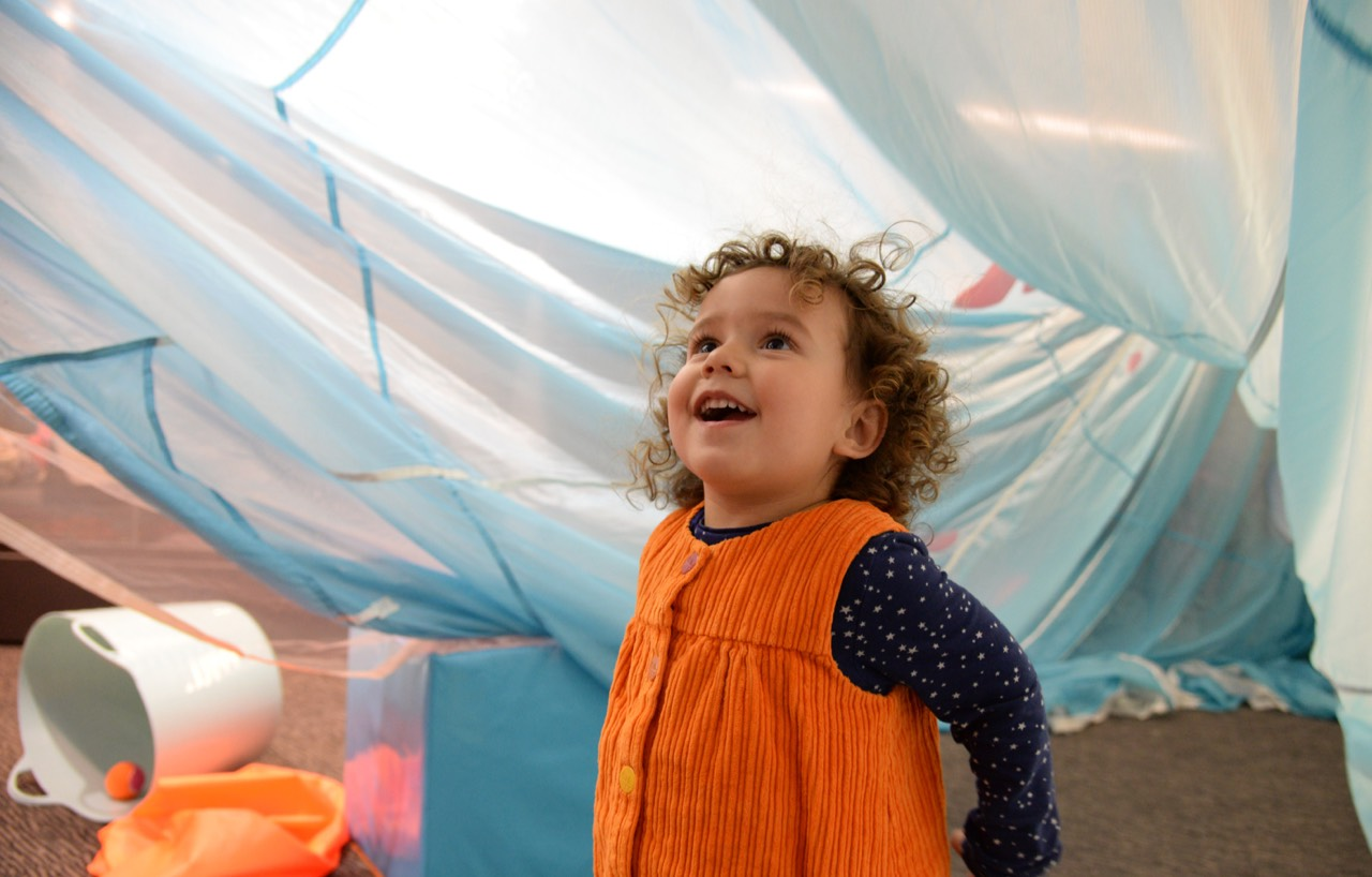 Rhymetime at The Barbican Is For Under Fives and Is Free