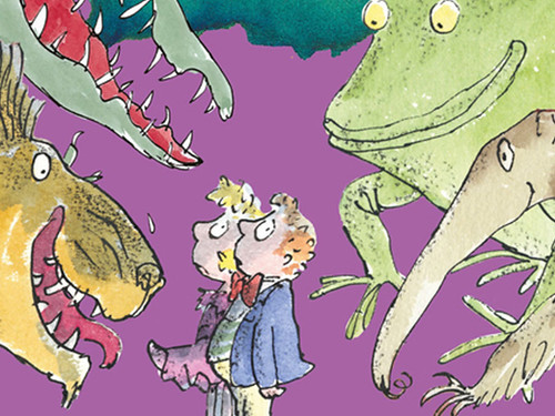 Roald Dahl books have been extremely popular with kids and continue to be.