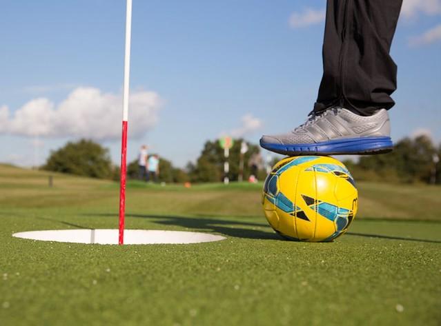 foot golf fun at golf kingdom