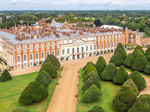 Hampton Court Palace Exterior