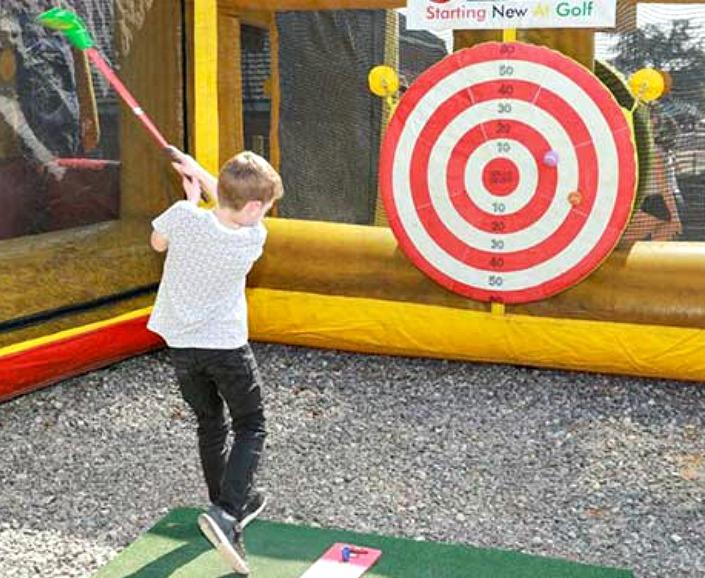 Hitting the target at Golf Kingdom