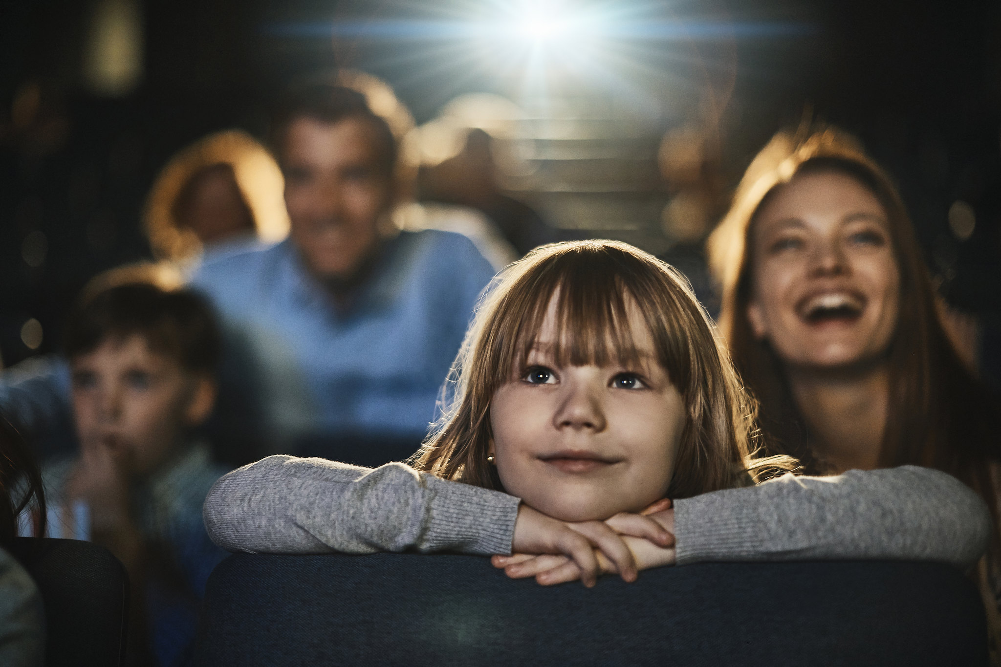 Child at the theatre