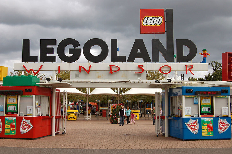 Legoland Windsor entrance.