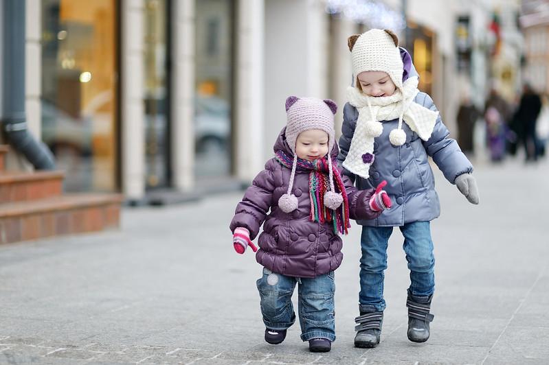 Children on a walk