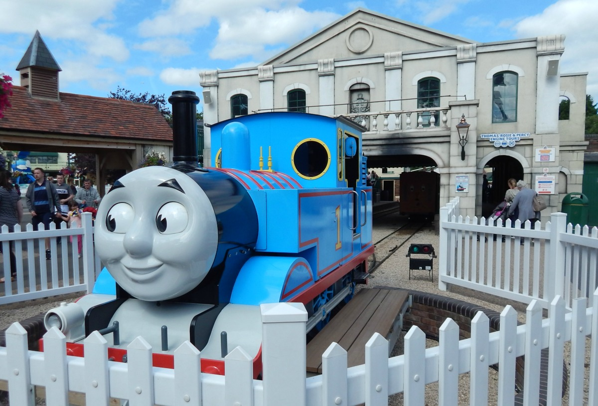 Thomas the Tank Engine at Thomas Land.