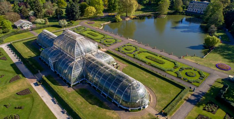 Kew Gardens in West London