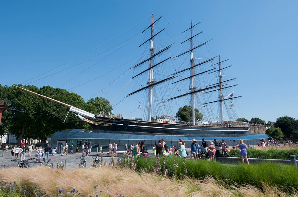 the cutty shark ship sight see in greenwich with kids