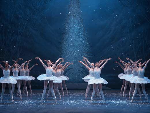 Ballet dancers in The Nutcracker