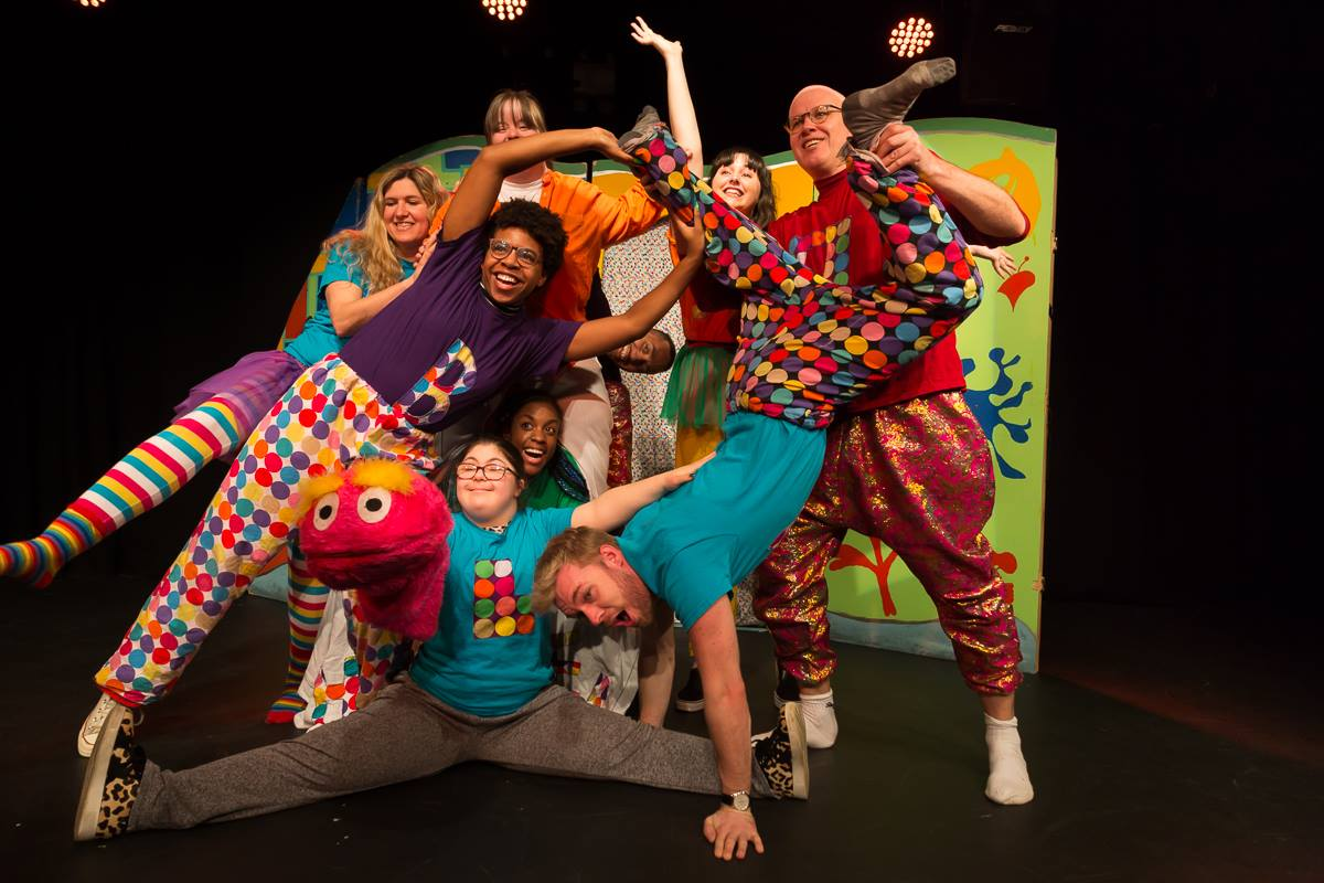 The Chickenshed Theatre putting on a show