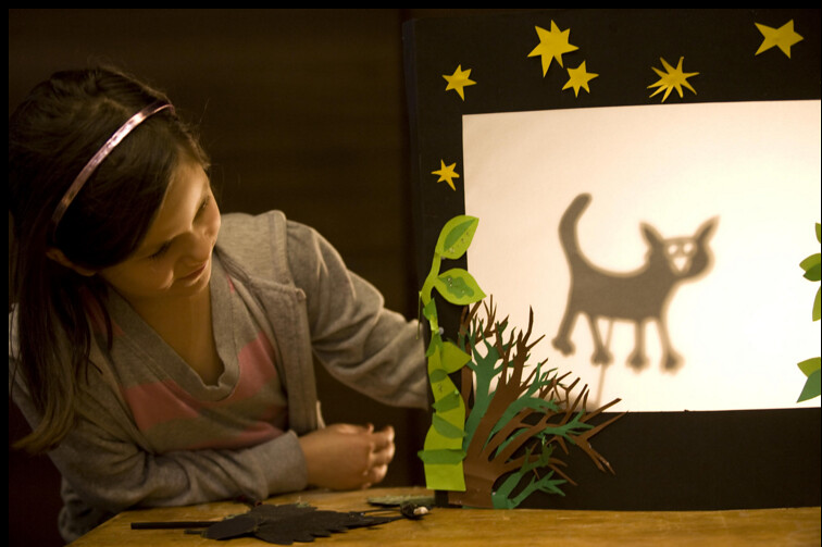 Shadow drawing projects can be really fun for kids whilst also being informative.