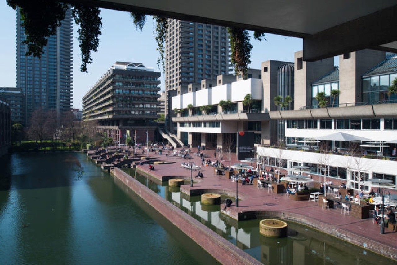 The Barbican Has A Lot Of Great Outdoor Space