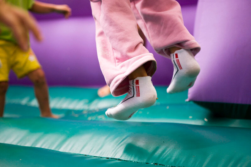 trampoline park for toddlers