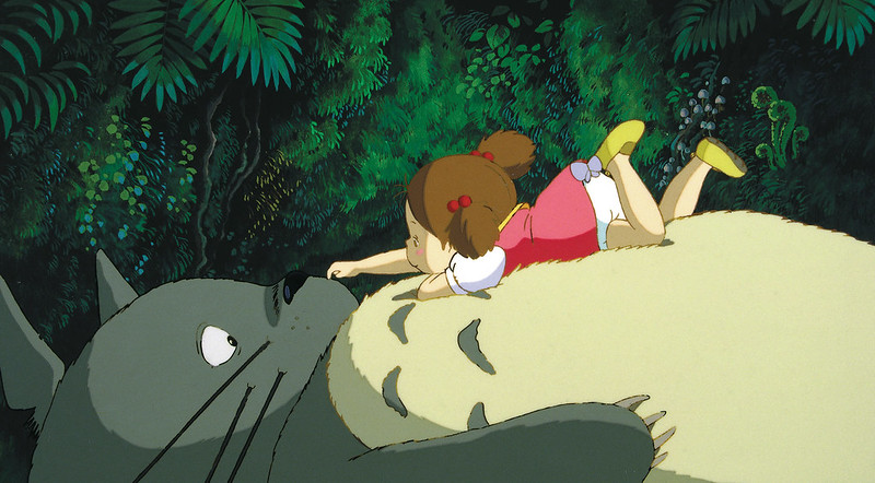 my neighbour totoro, one of the best studio ghibli films for kids