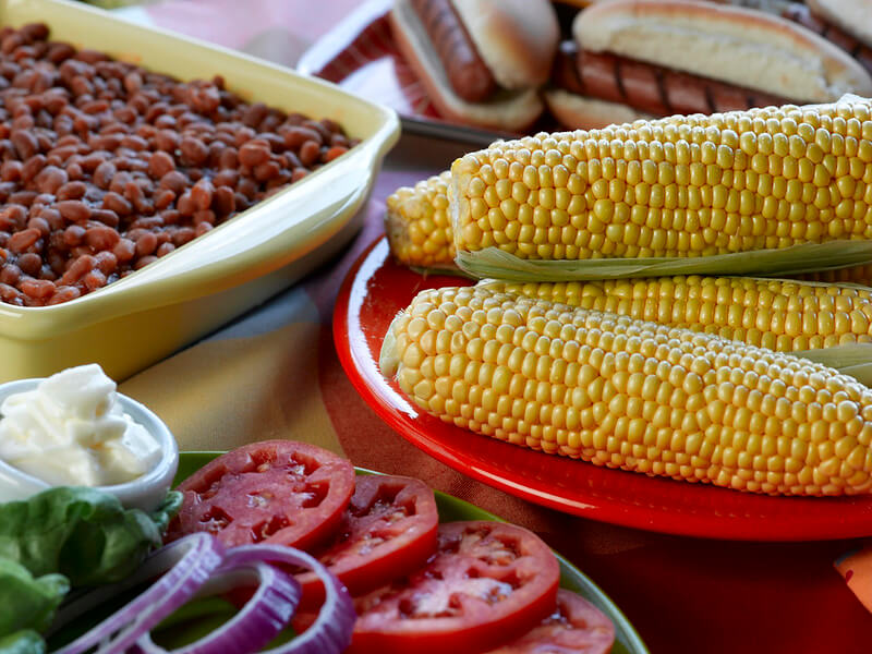 Homemade BBQ sides for the whole family.