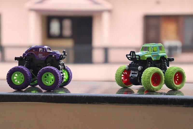 Monster Truck Cars inspiring Car Puns