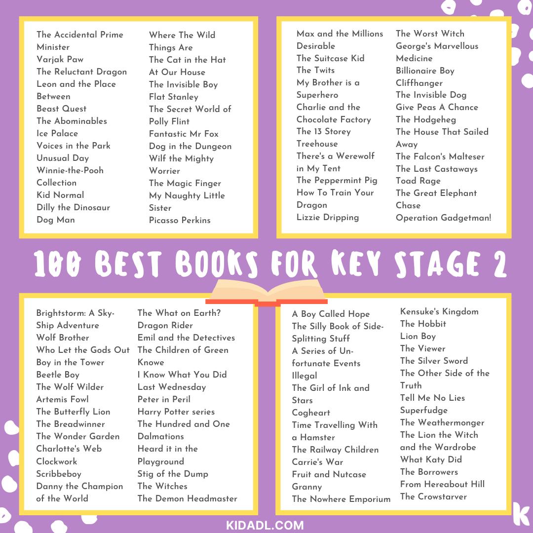 best books for ks2