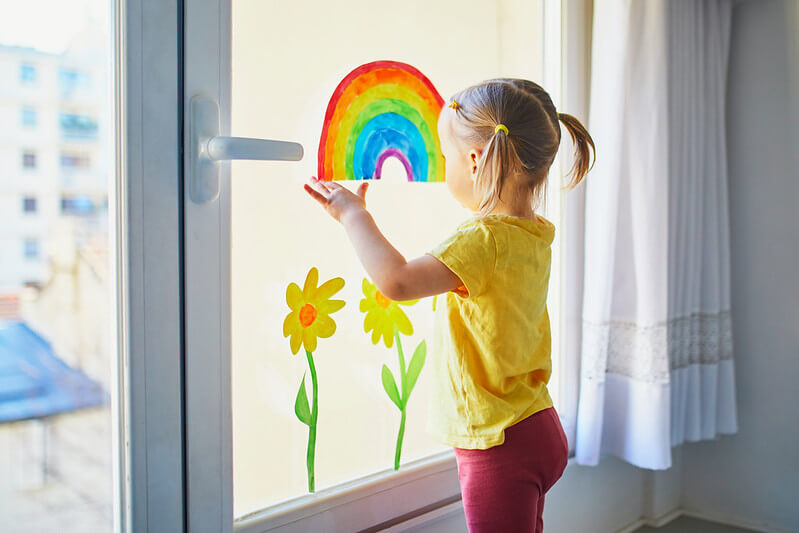 Window decorations are so much fun to make and can brighten up someone's day just by looking at them.