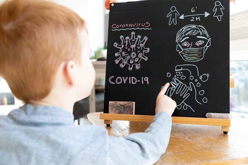 Child blackboard