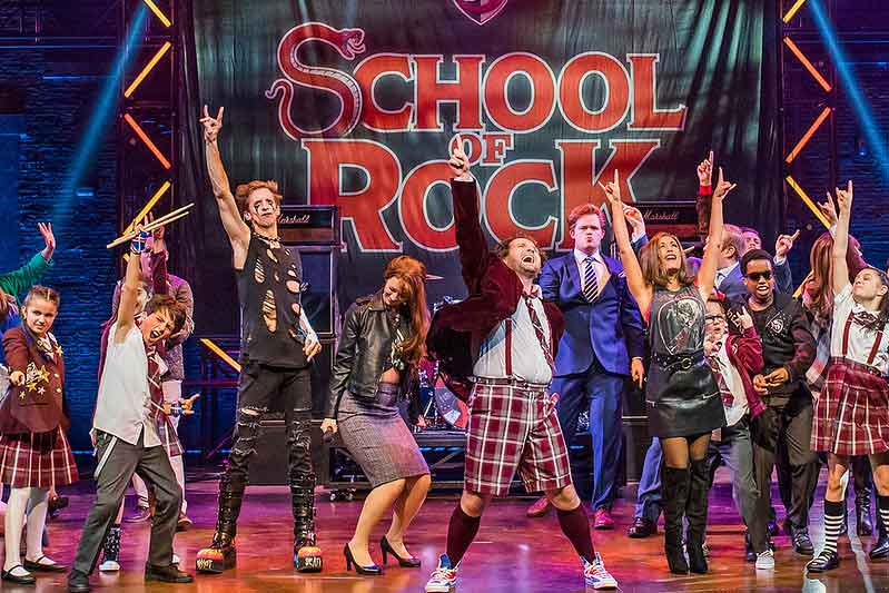 School of Rock live on stage