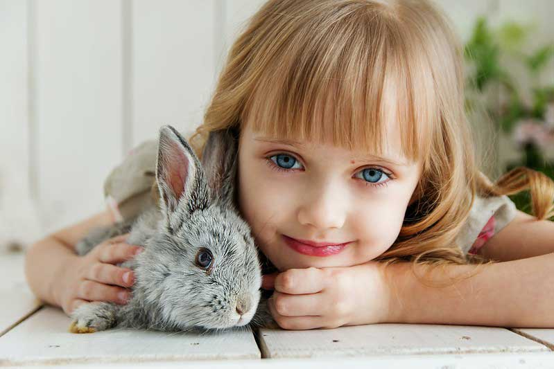 Animals and kids have a special bond.