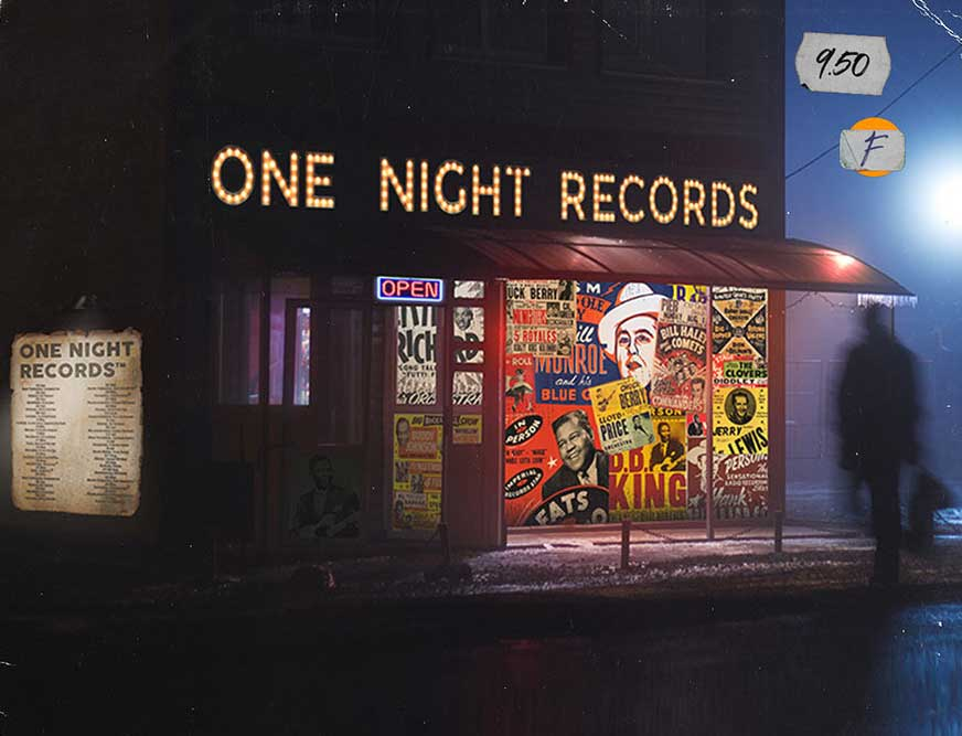 one night records promo image