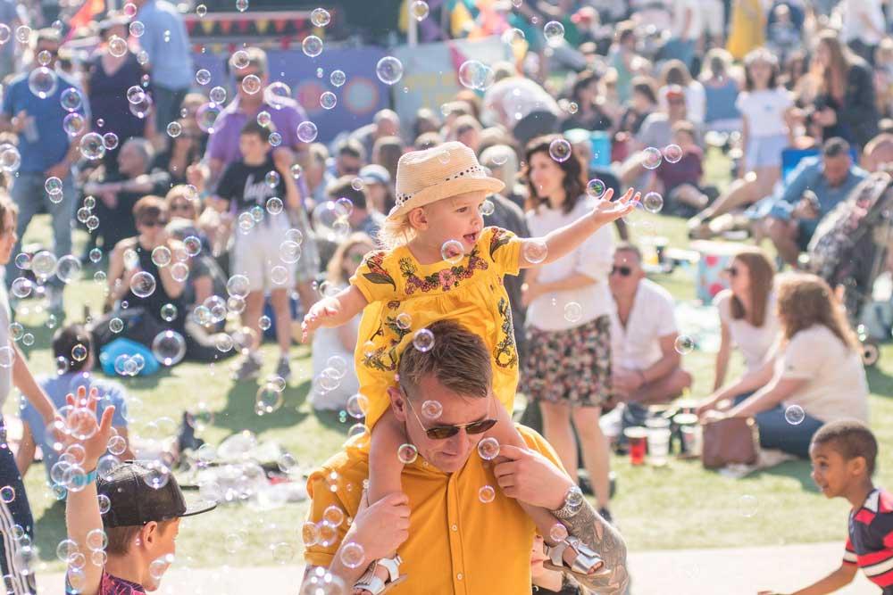 festival fun at dreamland margate summer