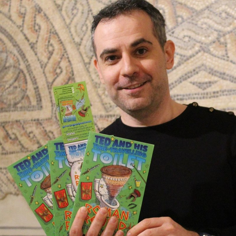 Children's author Steven Vinacour.