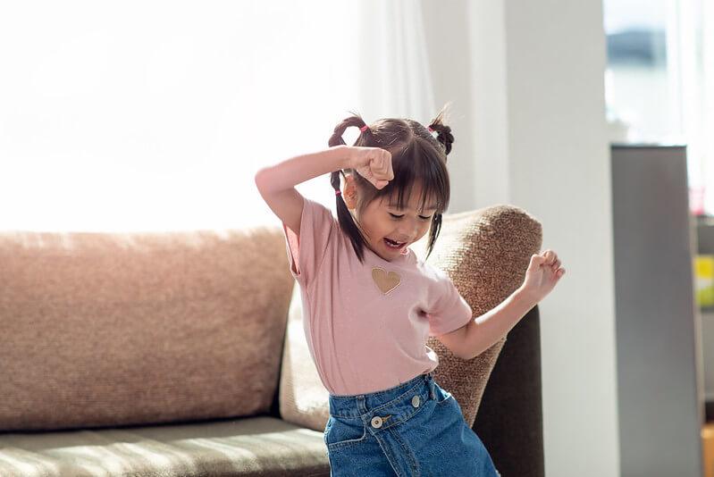 Kid friendly alexa movement games