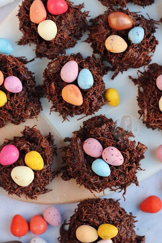 Shreaded Wheat Nests by Jane's Patisserie