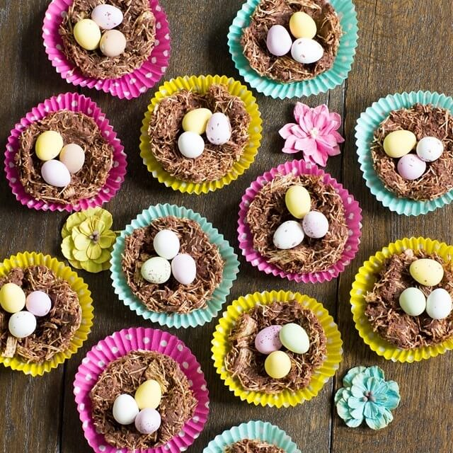 Shredded Wheat Nests by Baking Mad