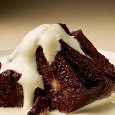 Delia's Chocolate Bread and Butter Pudding